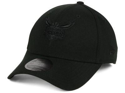 Charlotte Hornets New Era NBA Blackout 39THIRTY Cap