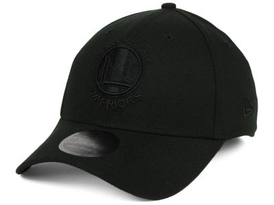 Golden State Warriors New Era NBA Blackout 39THIRTY Cap