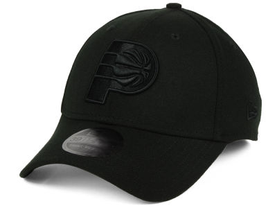 Indiana Pacers New Era NBA Blackout 39THIRTY Cap