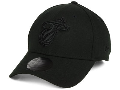 Miami Heat New Era NBA Blackout 39THIRTY Cap