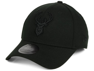 Milwaukee Bucks NBA Blackout 39THIRTY Cap
