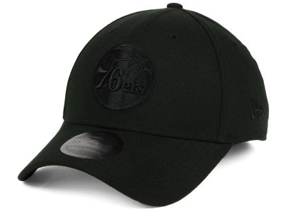 Philadelphia 76ers New Era NBA Blackout 39THIRTY Cap