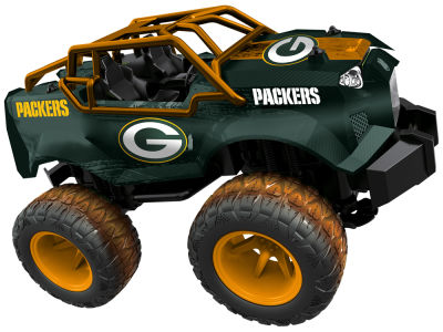 Green Bay Packers R/C Monster Trucks
