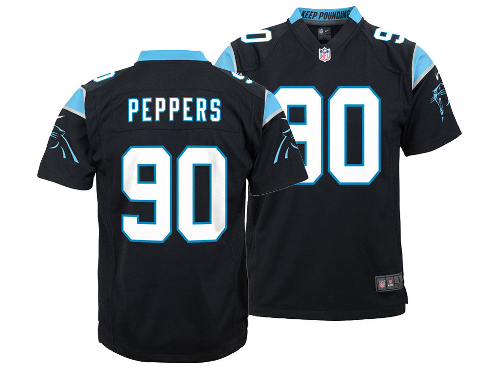 5c9793808 Carolina Panthers Julius Peppers Nike NFL Youth Game Jersey