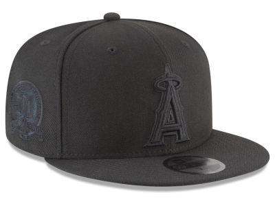 Los Angeles Angels MLB Blackout Ultimate Patch Collection 59FIFTY Cap