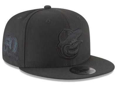 Baltimore Orioles MLB Blackout Ultimate Patch Collection 59FIFTY Cap