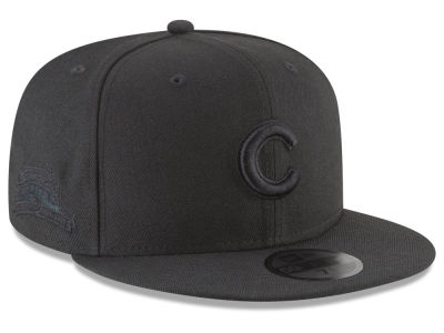 Chicago Cubs New Era MLB Blackout Ultimate Patch Collection 59FIFTY Cap