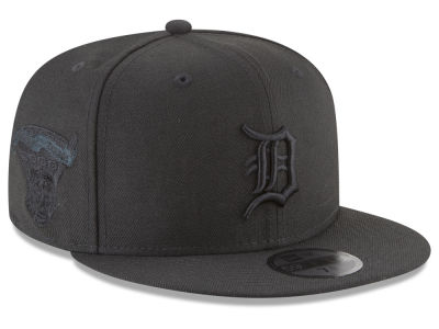 Detroit Tigers New Era MLB Blackout Ultimate Patch Collection 59FIFTY Cap