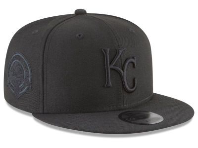 Kansas City Royals MLB Blackout Ultimate Patch Collection 59FIFTY Cap