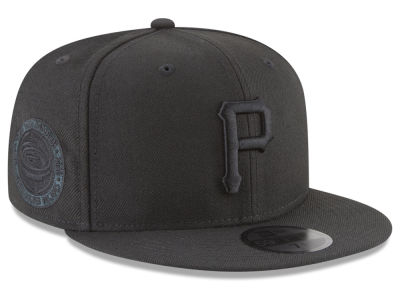 Pittsburgh Pirates New Era MLB Blackout Ultimate Patch Collection 59FIFTY Cap
