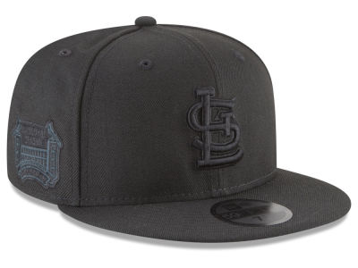 St. Louis Cardinals New Era MLB Blackout Ultimate Patch Collection 59FIFTY Cap