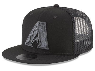 Arizona Diamondbacks New Era MLB Blackout Mesh 9FIFTY Snapback Cap