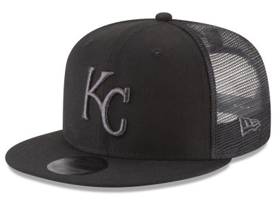 Kansas City Royals New Era MLB Blackout Mesh 9FIFTY Snapback Cap