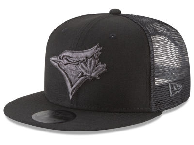 Toronto Blue Jays New Era MLB Blackout Mesh 9FIFTY Snapback Cap