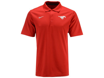 Southern Methodist Mustangs NCAA Men's Varsity Team Logo Polo
