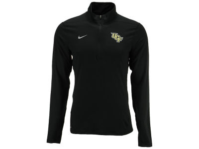 University of Central Florida Knights NCAA Men's Solid Dri-Fit Element Quarter Zip Pullover