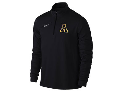 Appalachian State Mountaineers Nike NCAA Men's Solid Dri-Fit Element Quarter Zip Pullover