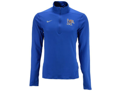 Memphis Tigers NCAA Men's Solid Dri-Fit Element Quarter Zip Pullover