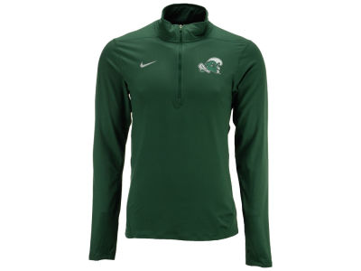 Tulane Green Wave NCAA Men's Solid Dri-Fit Element Quarter Zip Pullover