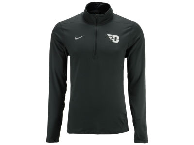 Dayton Flyers NCAA Men's Heather Dri-Fit Element Quarter Zip Pullover