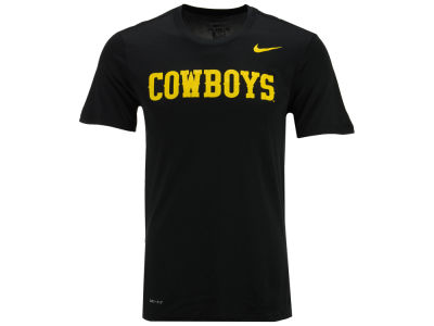 Wyoming Cowboys Nike NCAA Men's Dri-Fit Legend Wordmark T-Shirt
