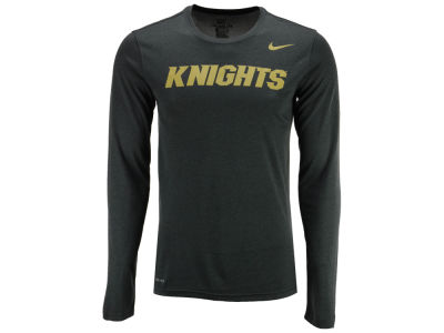 University of Central Florida Knights Nike NCAA Men's Dri-Fit Legend Wordmark Long Sleeve T-shirt