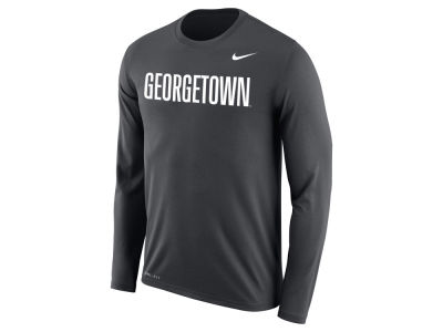 Georgetown Hoyas Nike NCAA Men's Dri-Fit Legend Wordmark Long Sleeve T-shirt