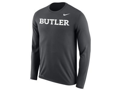 Butler Bulldogs Nike NCAA Men's Dri-Fit Legend Wordmark Long Sleeve T-shirt