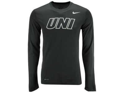 Northern Iowa Panthers Nike NCAA Men's Dri-Fit Legend Wordmark Long Sleeve T-shirt