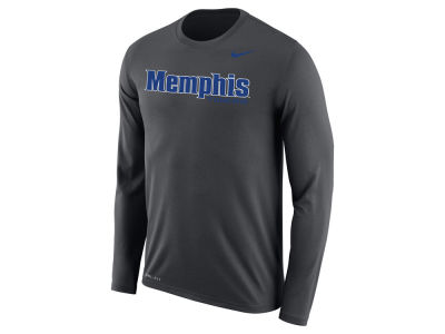 Memphis Tigers Nike NCAA Men's Dri-Fit Legend Wordmark Long Sleeve T-shirt