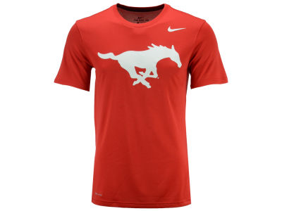 Southern Methodist Mustangs Nike NCAA Men's Dri-Fit Legend 2.0 Logo T-Shirt