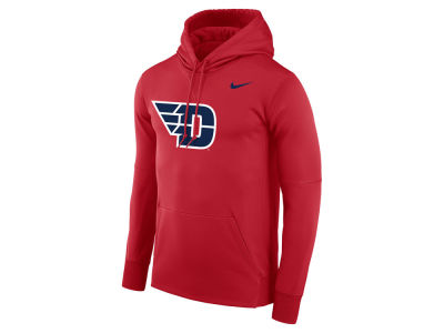 Dayton Flyers Nike NCAA Men's Therma Logo Hoodie