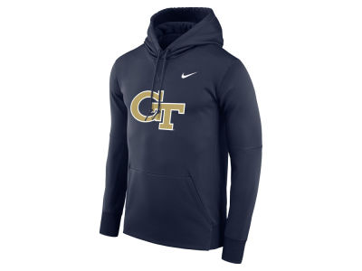 Georgia Tech Nike NCAA Men's Therma Logo Hoodie
