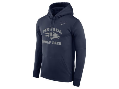 Nevada Wolf Pack Nike NCAA Men's Therma Logo Hoodie