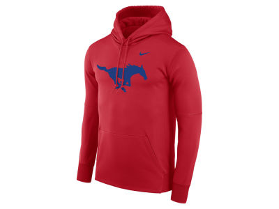Southern Methodist Mustangs Nike NCAA Men's Therma Logo Hoodie