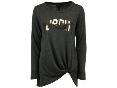 Purdue Boilermakers Gameday Couture NCAA Women's Twist Long Sleeve T-Shirt