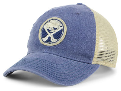 Buffalo Sabres adidas NHL Sun Bleached Slouch Cap