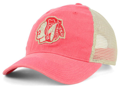 Chicago Blackhawks adidas NHL Sun Bleached Slouch Cap