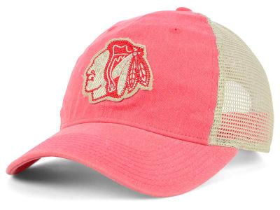 Chicago Blackhawks adidas NHL Sun Bleached Slouch Cap dd0275ccf469
