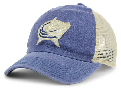Columbus Blue Jackets adidas NHL Sun Bleached Slouch Cap