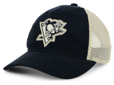 Pittsburgh Penguins adidas NHL Sun Bleached Slouch Cap