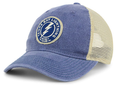 Tampa Bay Lightning adidas NHL Sun Bleached Slouch Cap