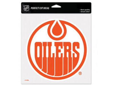 Edmonton Oilers 8x8 Die Cut Decal