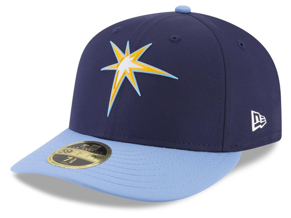 size 40 965e3 57135 ... spain tampa bay rays new era mlb batting practice prolight low profile  59fifty cap lids bf15d