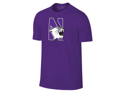 Northwestern Wildcats Retro Brand NCAA Men's Big Logo T-Shirt