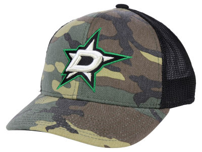 Dallas Stars adidas NHL Camo Trucker Cap