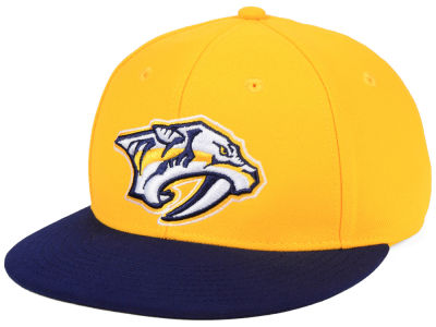 Nashville Predators adidas NHL Basic Fitted Cap 9529499195bb