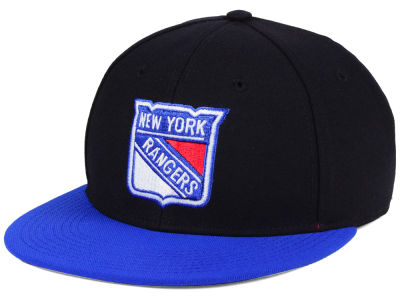 New York Rangers adidas NHL Basic Fitted Cap