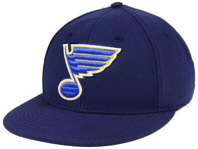 St. Louis Blues adidas NHL Basic Fitted Cap