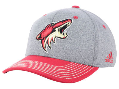 Arizona Coyotes adidas NHL Heather Line Change Cap